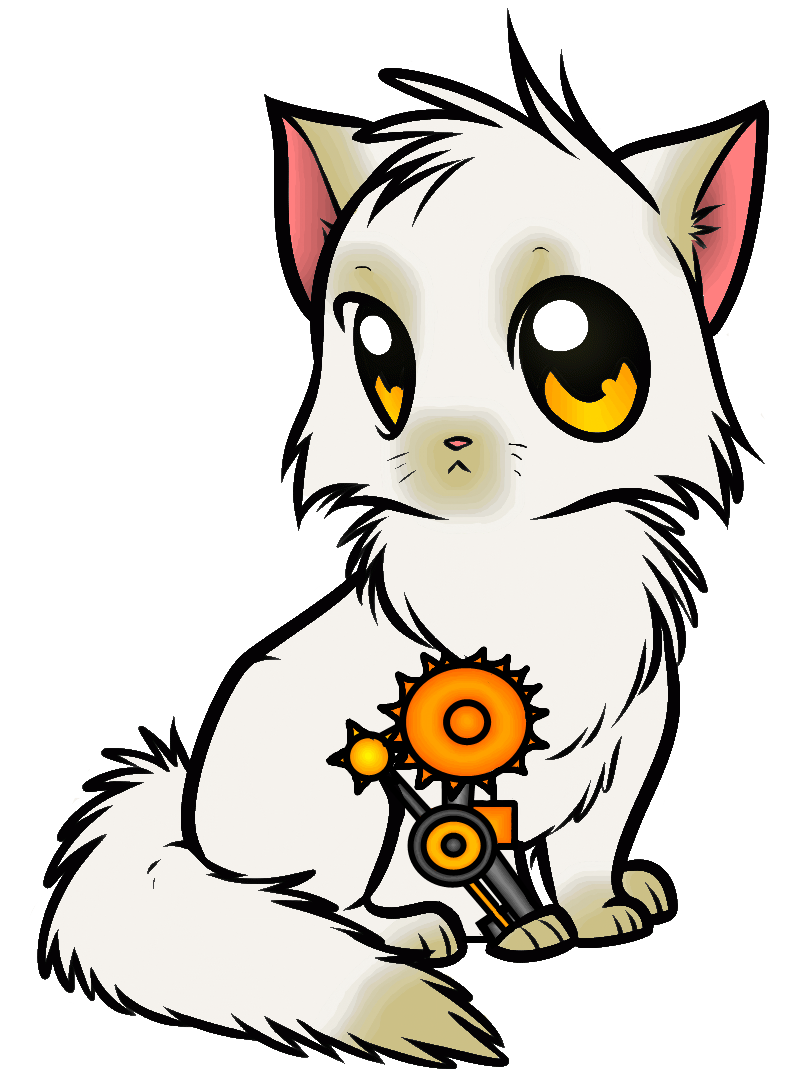 Kitty clipart anime cat. Steampunk drawings art artthatinspirestomakeart