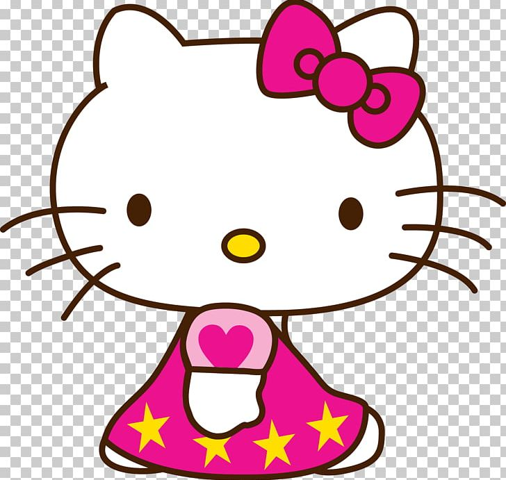 Kitty clipart colored. Hello drawing cartoon color