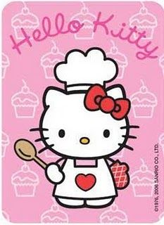 Hello cook all things. Kitty clipart cooking