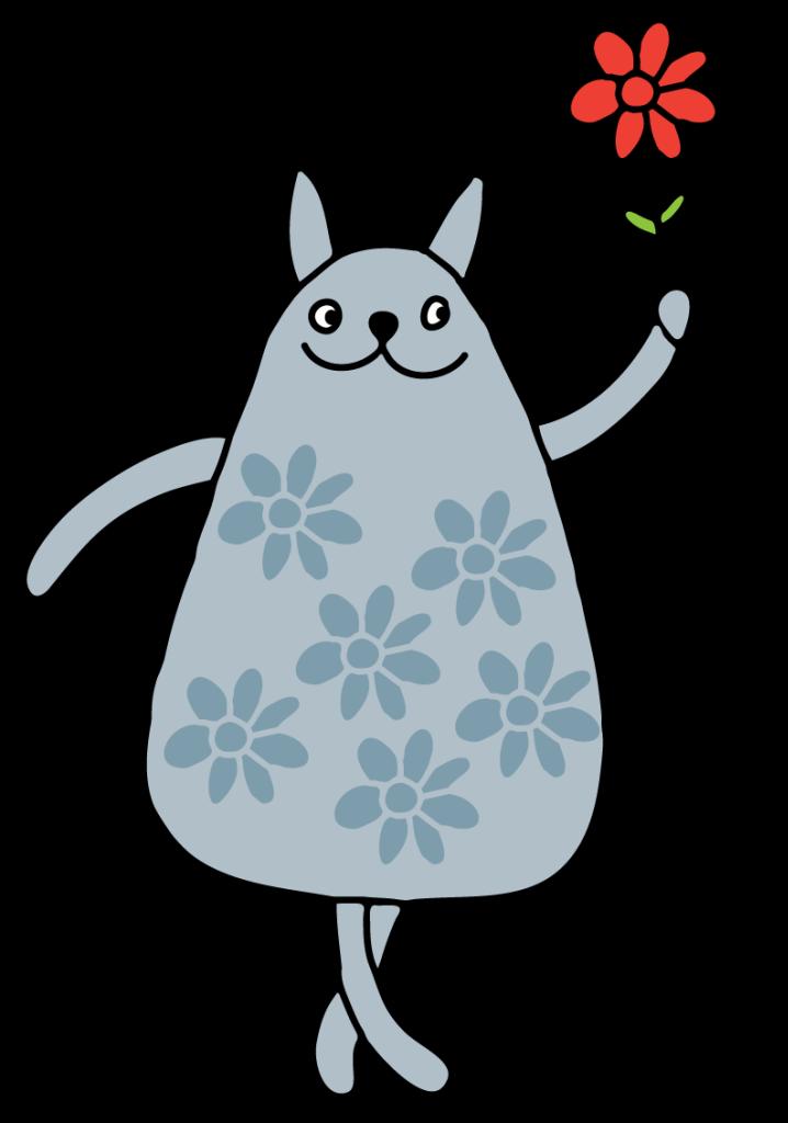 Kitty clipart doodle.  a jpg cat