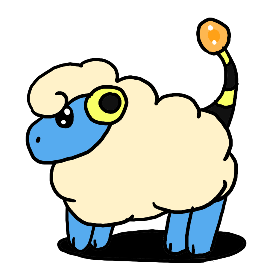 Mareep by skitty the. Kitty clipart doodle