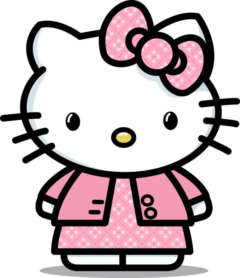 Kitty clipart middle. Free hello school cliparts