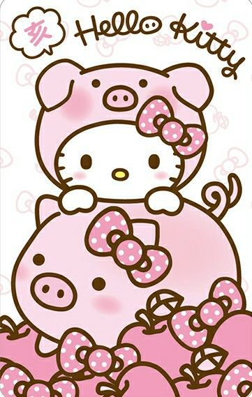 Kitty clipart new year. Happy lunar hello