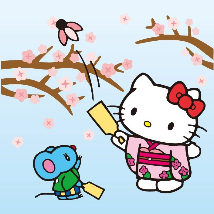 Free pictures of years. Kitty clipart new year