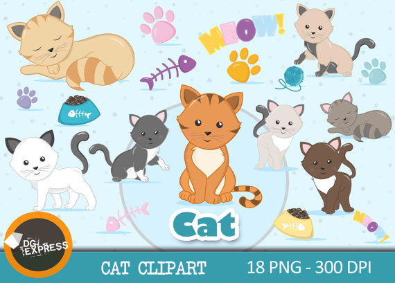 Kitty clipart pet cat. Sale kitten