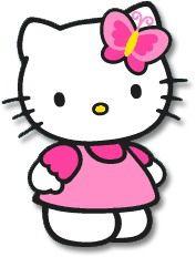 Free hello clip art. Kitty clipart printable