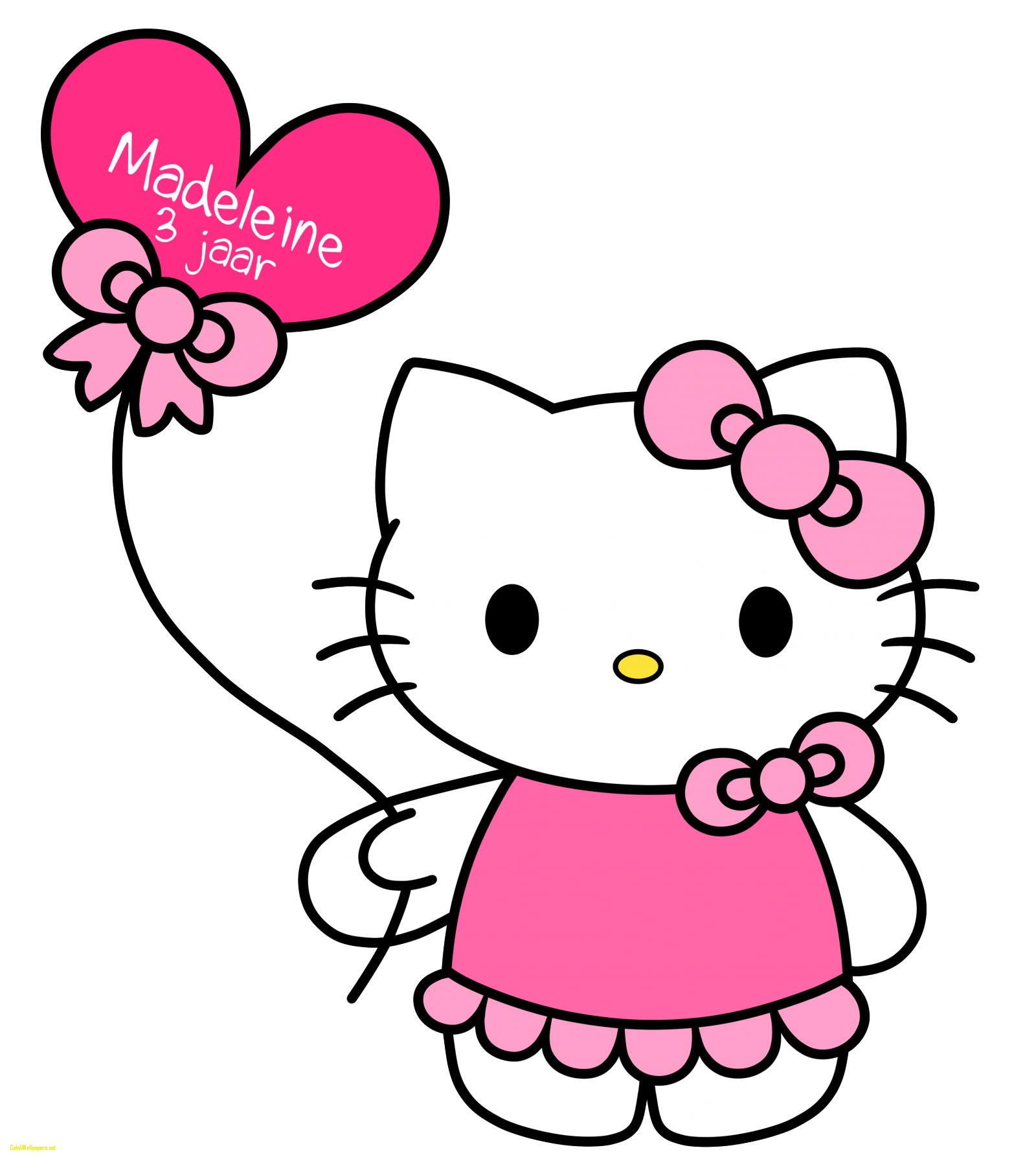 Free hello at getdrawings. Kitty clipart printable