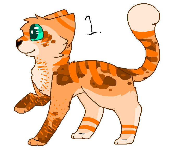 Kitty clipart realistic. Semi cat adopt points