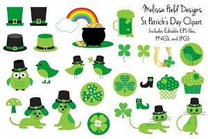 Kitty clipart st patrick's day. Patrick s illustrations creative