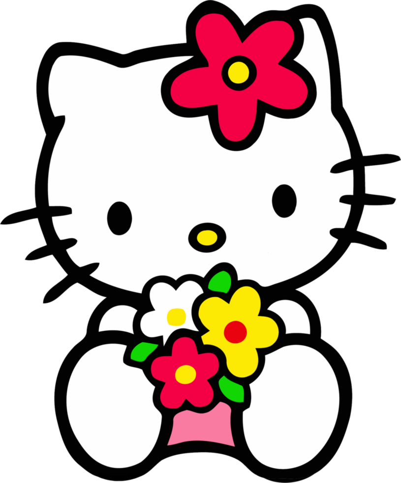 Free hello at getdrawings. Kitty clipart valentine
