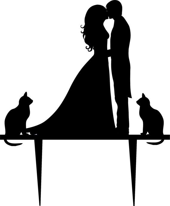 Kitty clipart wedding. Free cat cliparts download