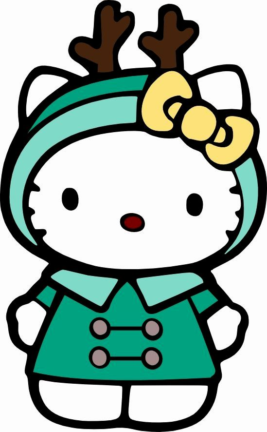 Kitty clipart winter. Hello clip art love