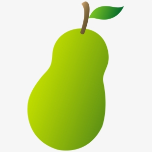 Pears fruit png clip. Kiwi clipart chico