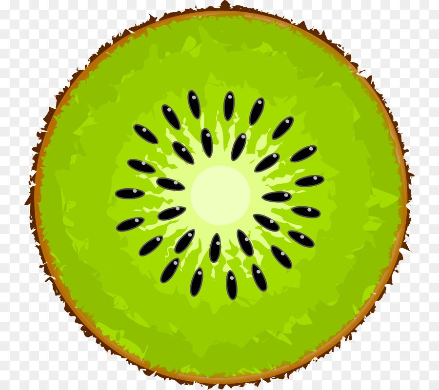Kiwi clipart circle. Green png download free