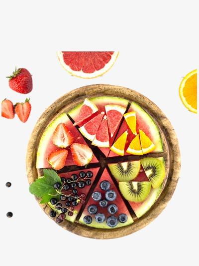Platter watermelon png image. Kiwi clipart fruit plate