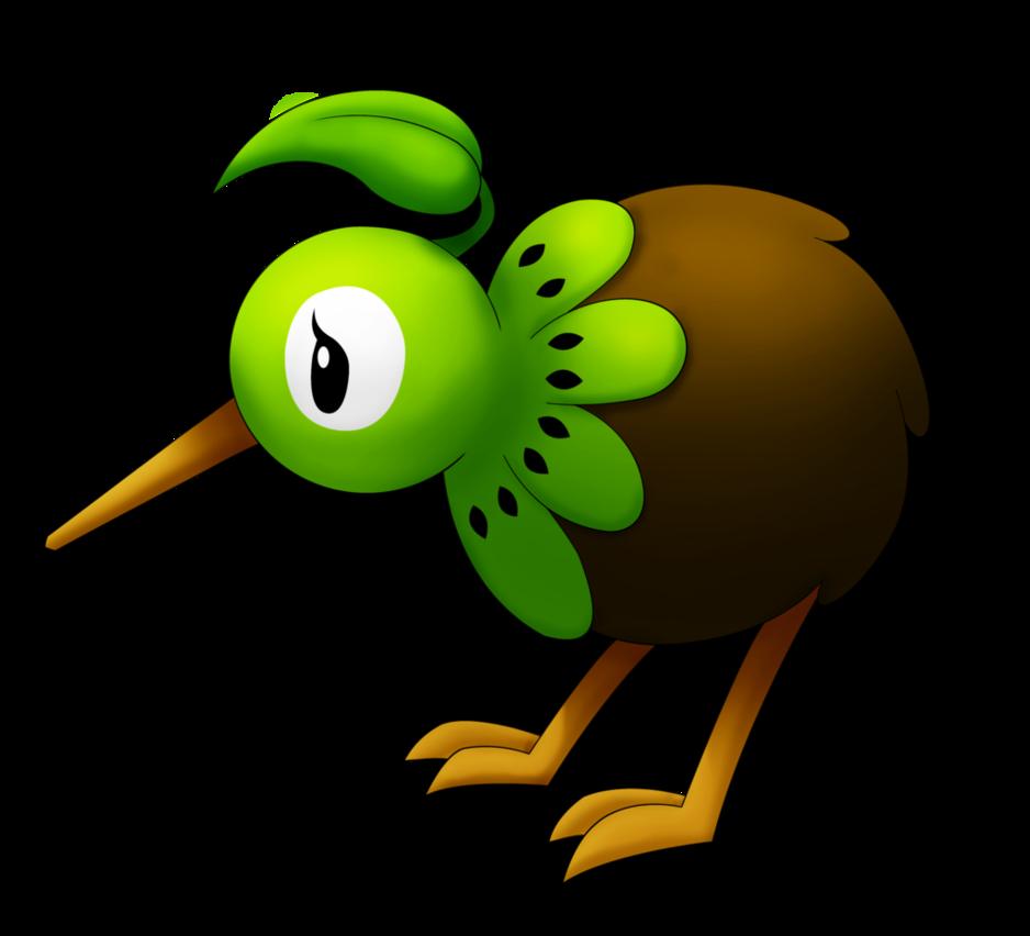 Kiwi clipart kea. Fakemon keewee by lichtdrache