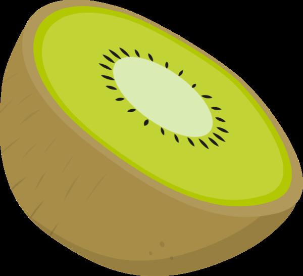 Kiwi clipart one. Free online fruit icon