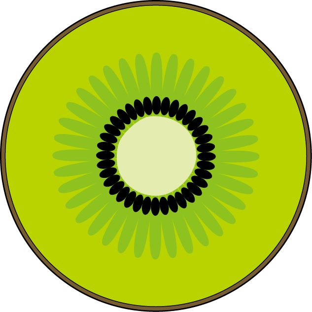 Free fruit cliparts download. Kiwi clipart sliced