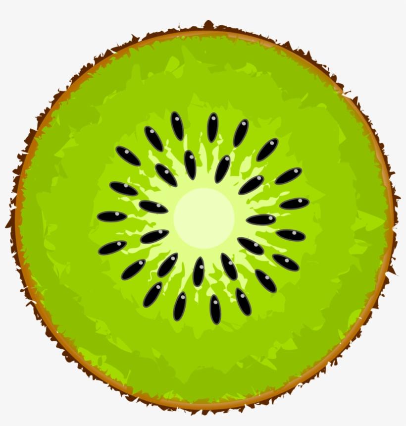 Slice png image transparent. Kiwi clipart sliced