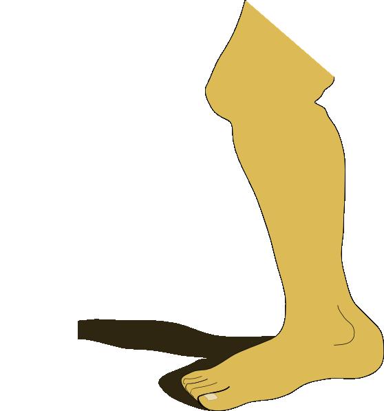 Leg clip art at. Knee clipart bend knee