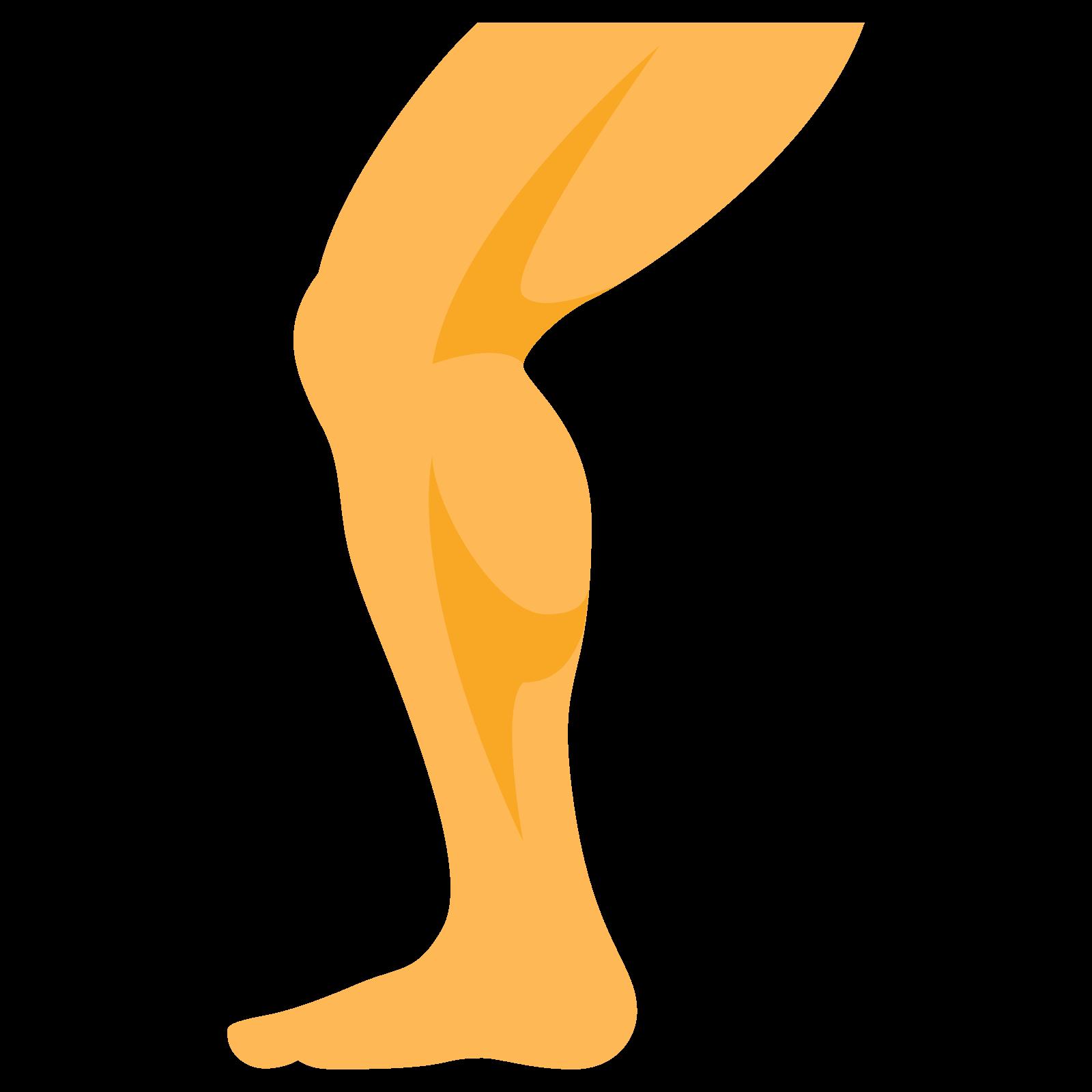 Icona leg download gratuito. Knee clipart bend knee