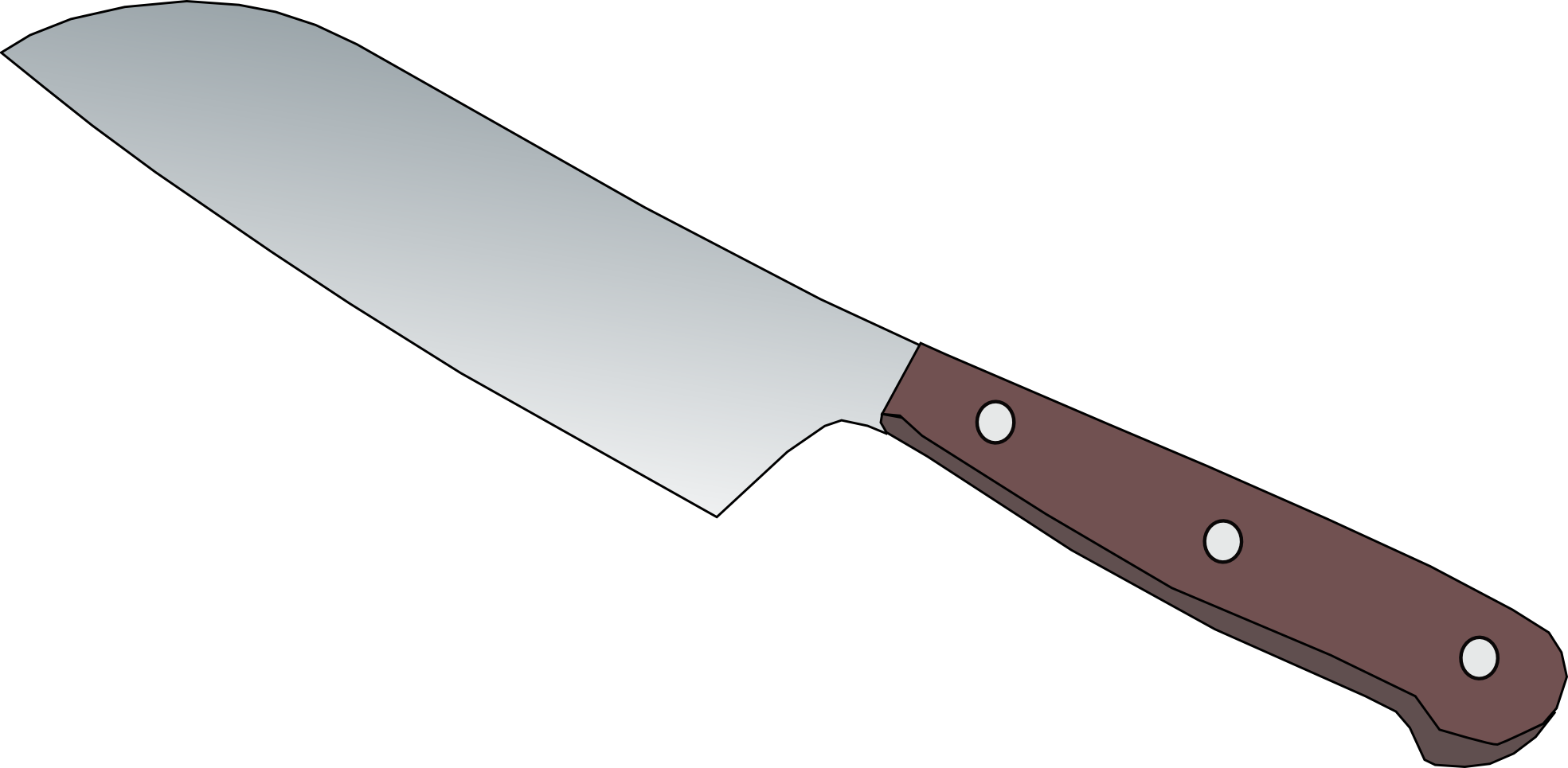. Hands clipart knife