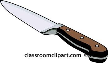 Knife clipart cartoon.  clipartlook