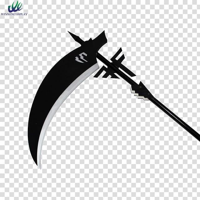 Sickle weapon scythe blade. Knife clipart death