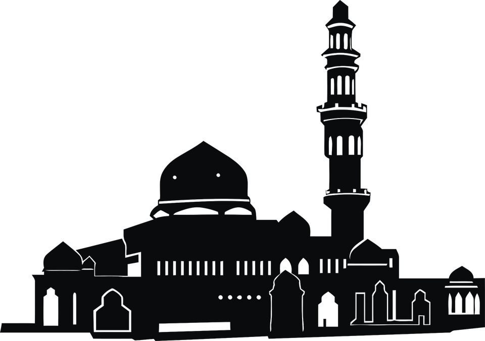 Mosque clipart sharif ajmer. Islam dome free collection