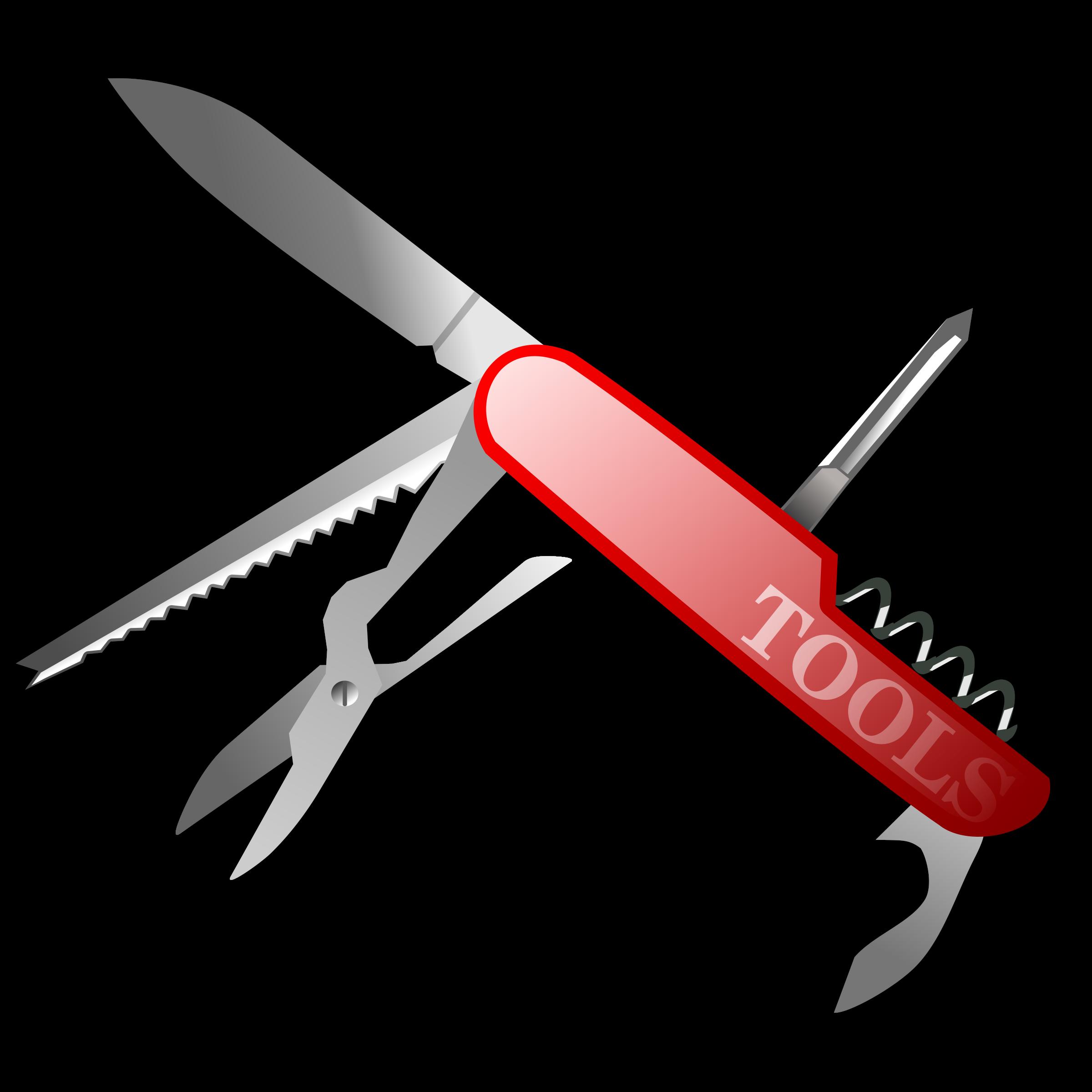 Knife clipart hand. Swiss army clip art