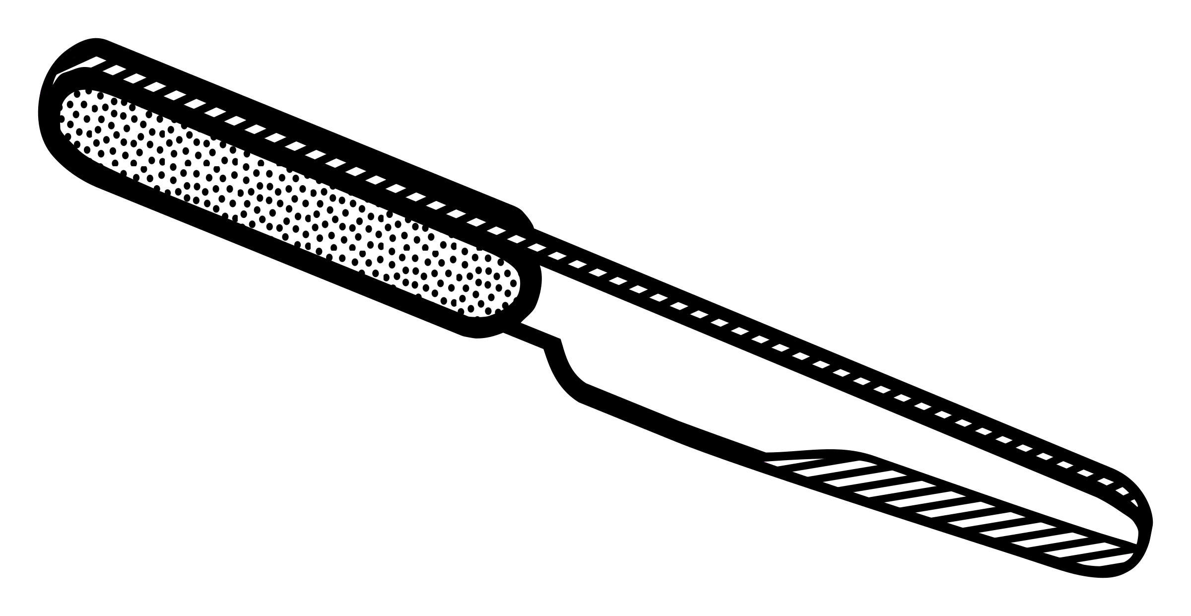 Knife clipart line art. Lineart big image png