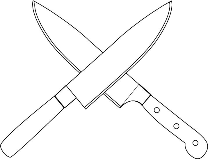 Knives x free clip. Knife clipart long knife