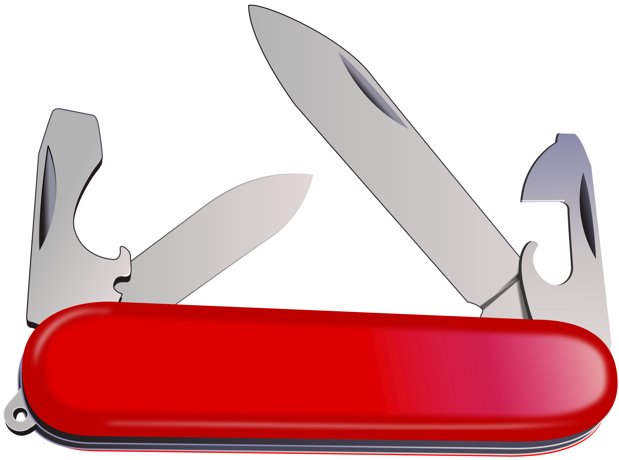 Swiss army big image. Knife clipart pen knife