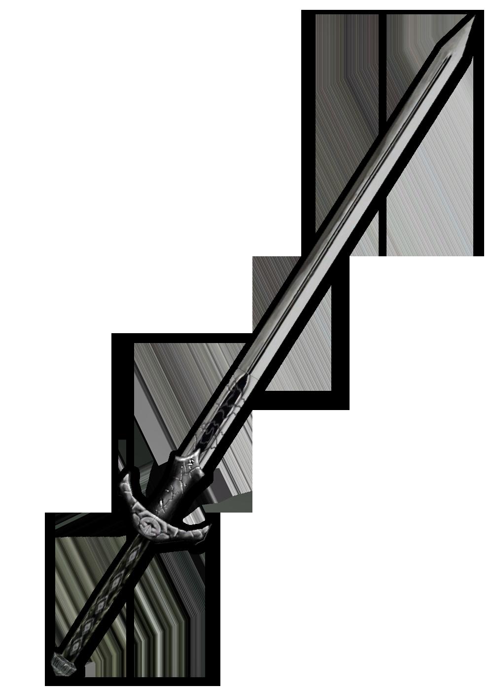 Sword nine isolated stock. Knife clipart picsart