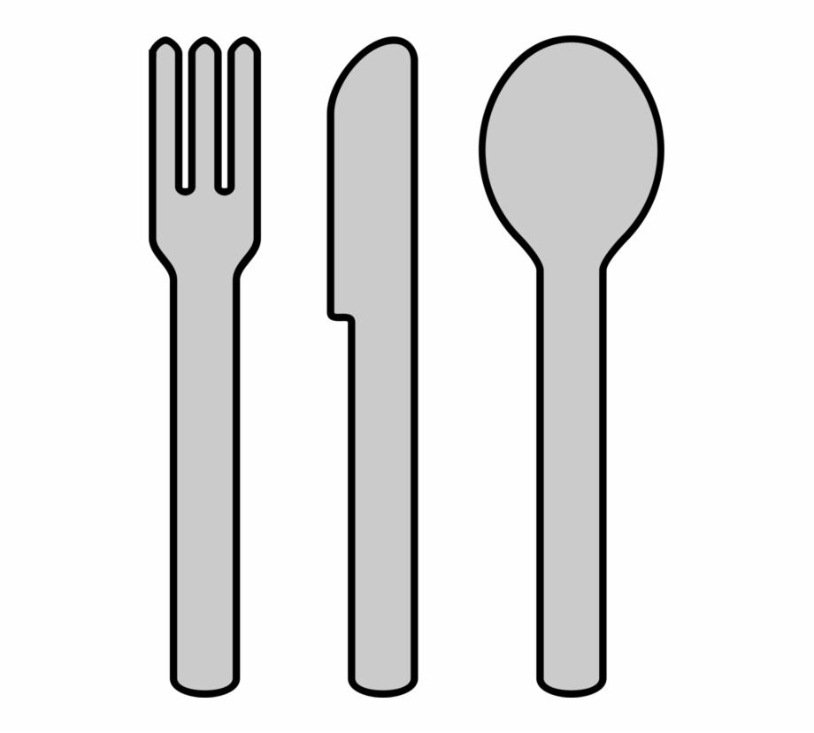 Cutlery spoon fork kitchen. Knife clipart utensil