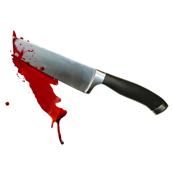 Tag roz sticker by. Knife with blood png