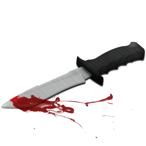Knife with blood png. Bloody icon download free
