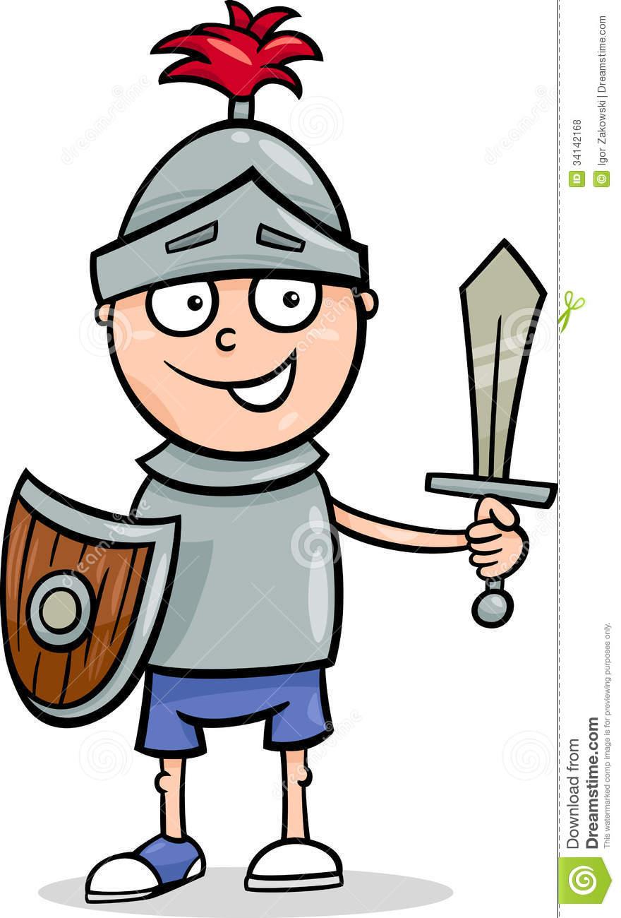 Knight clipart. Cute cartoon