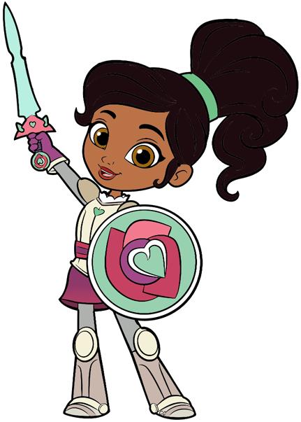 Nella the princess clip. Knight clipart