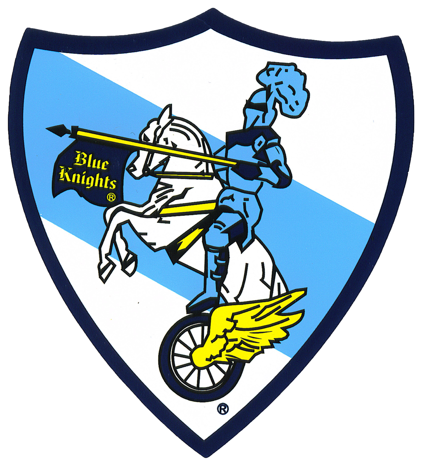Knight clipart blue knight.  piece reflective colors