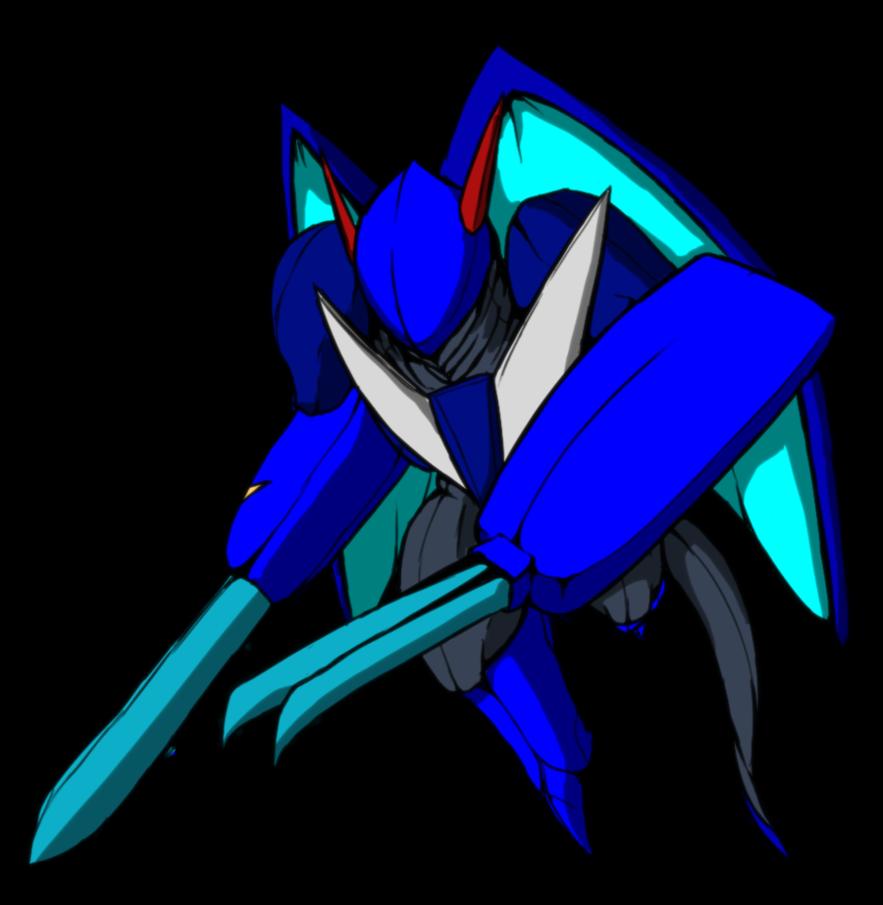 Divdramon by midnitez remix. Knight clipart blue knight