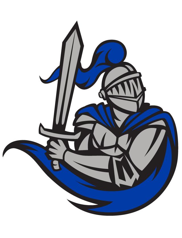 Knight clipart blue knight. Temporary tattoo