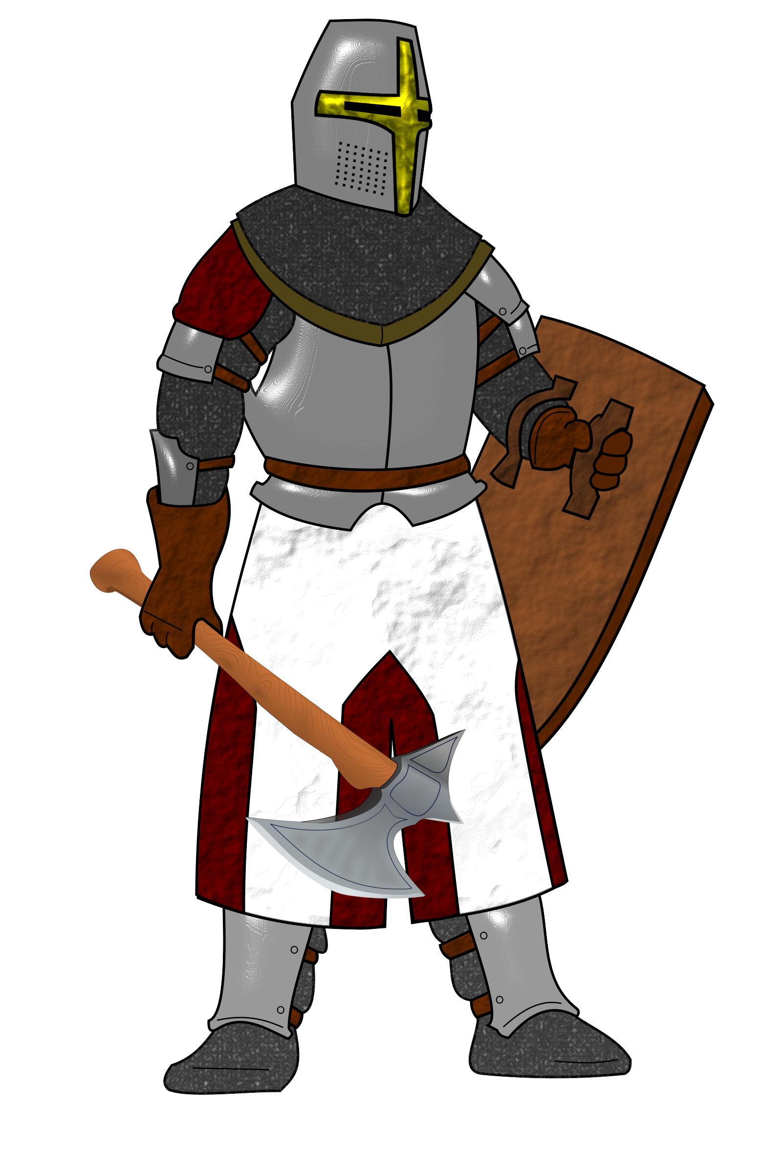 Knight clipart body armor. Plate icons png free