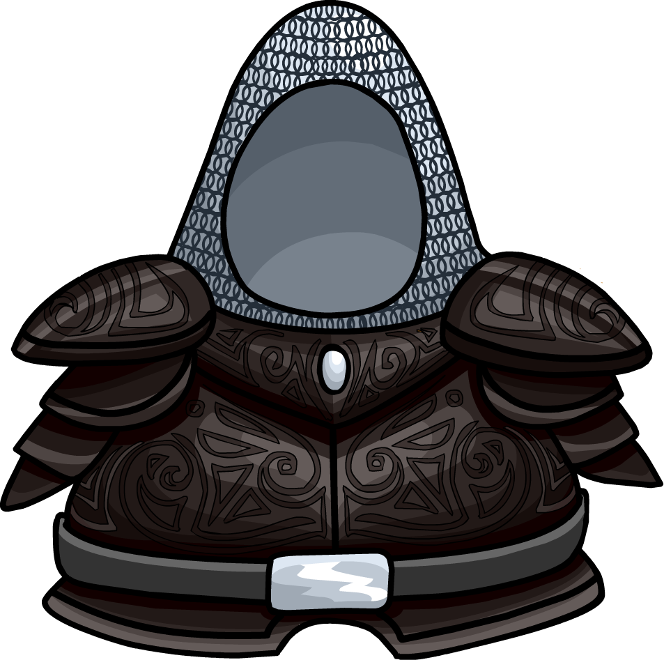 Iron club penguin rewritten. Knights clipart body armor