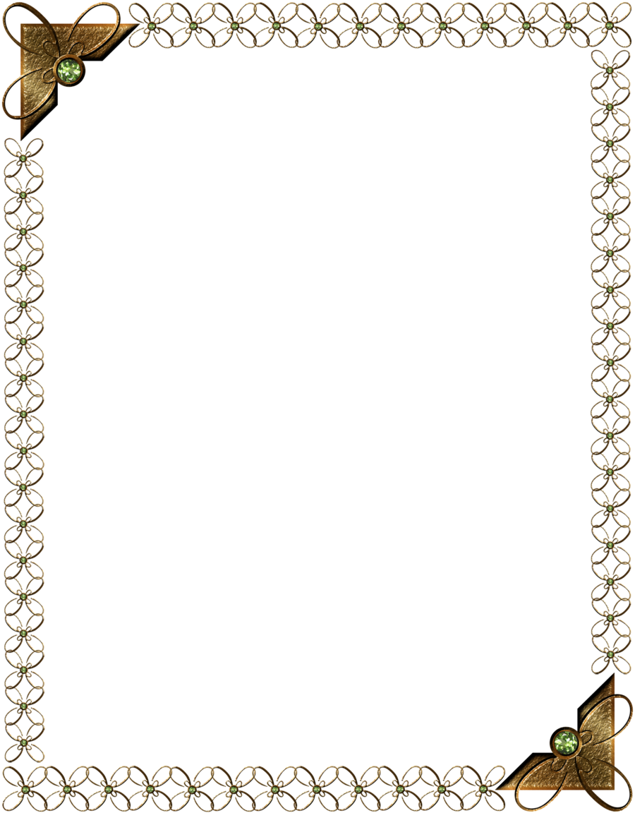 Golden pattern scope by. Knight clipart border