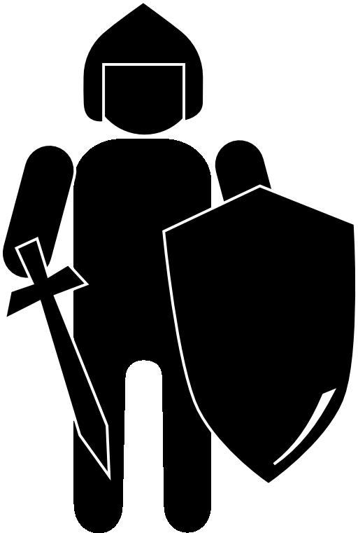 knight clipart boy