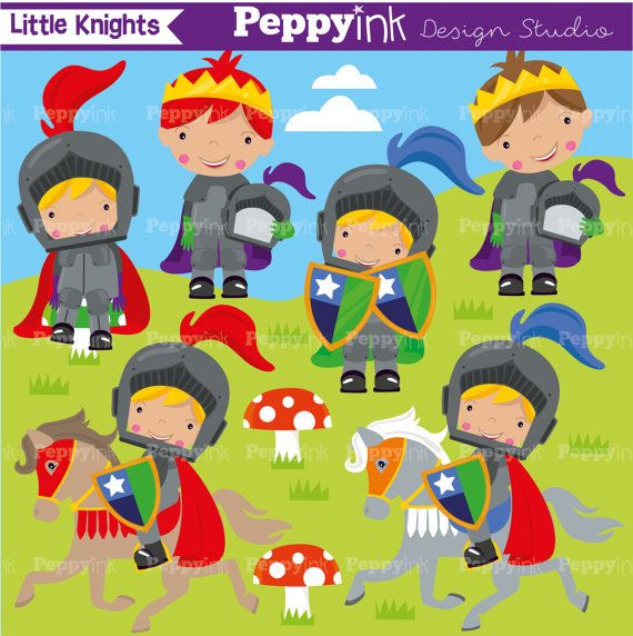 Knights commercial use vector. Knight clipart caballero