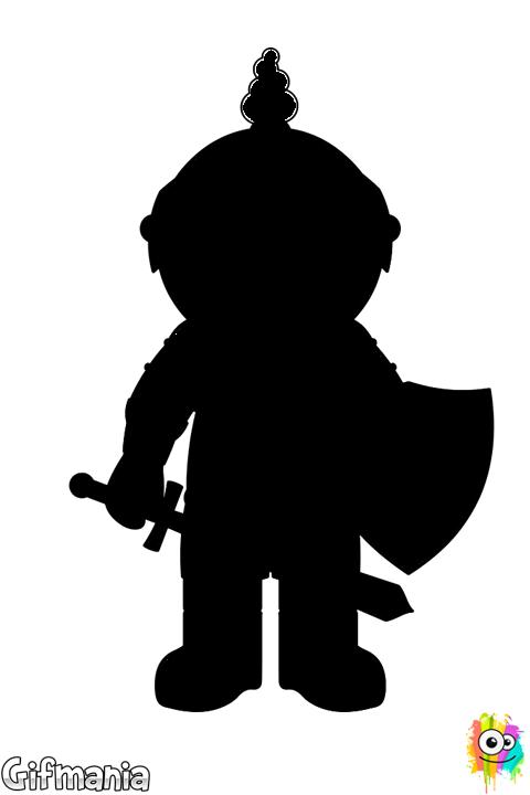 Knight clipart caballero. Children fantasy drawing ritarit