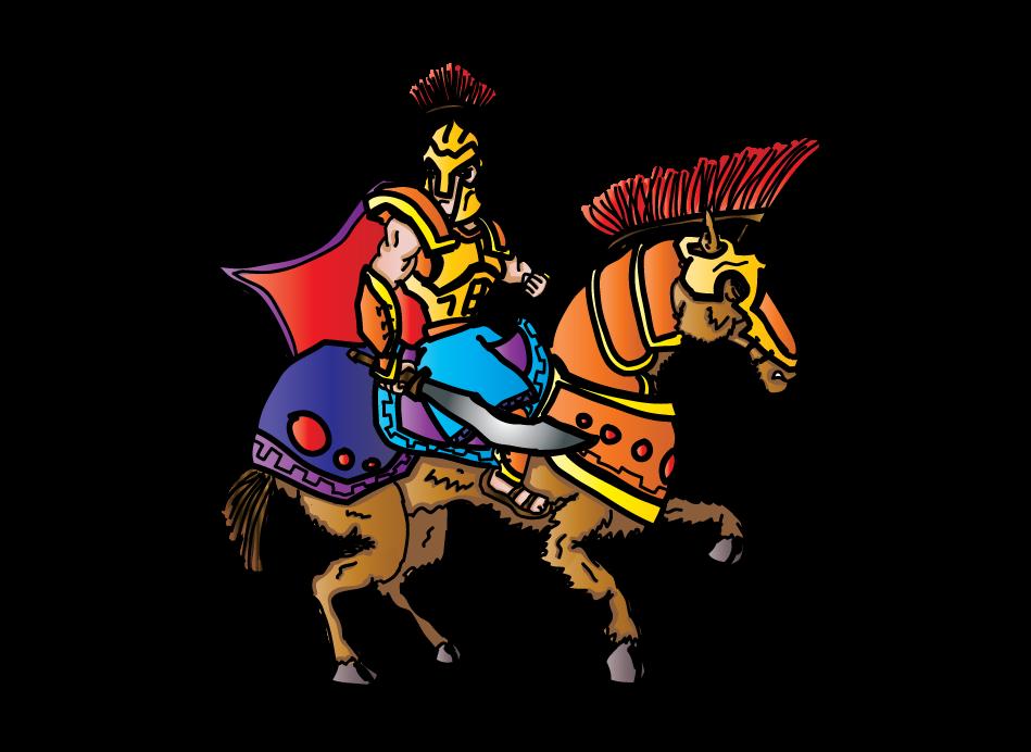 Knights clipart cavalry. Civic games jonathan ng