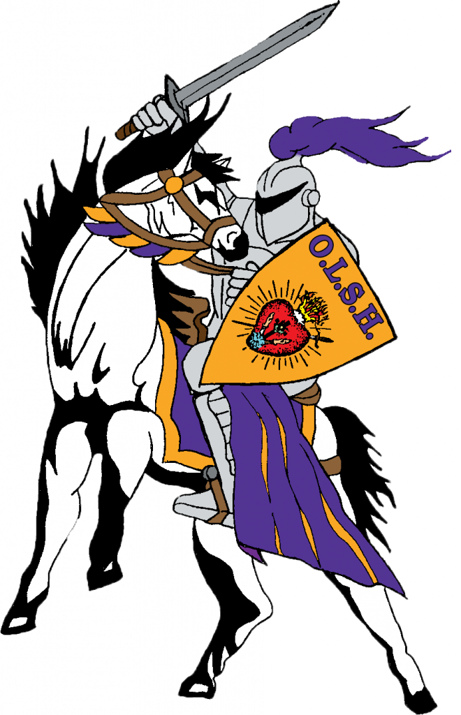 Our lady of the. Knights clipart charger